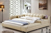 Brand new King Size Luxury leather bed  Victoria, V8Z