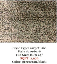 Carpet Tile Blowout