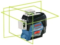 Bosch 360-Degree Green Beam Three-Plane Leveling   Toronto, M5V 3R8
