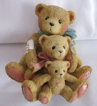 "Cherished Teddies - ""Theadore, Samantha and Tyler"" Victor"