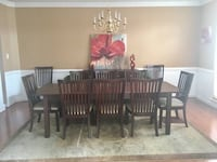 Dining set table chairs and buffet Chester, 23831