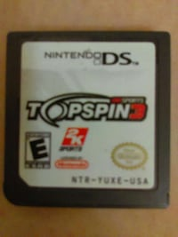nintendo ds topspin 3 Rowland Heights, 91748