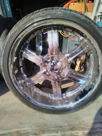 #22 tires and rims