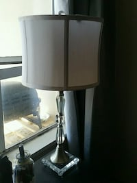 white and black table lamp Vancouver, V5R 6B6