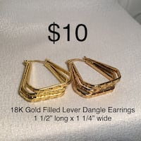 Gold Filled Earrings Chesapeake, 23320