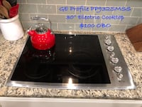"GE Profile PP932SMSS 30"" Electric Cooktop Clarksburg, 20871"