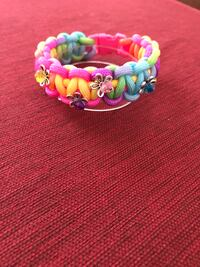 Pink and green beaded bracelet Simpsonville, 29680