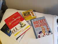 great books for gifts, darwin awards, hockey sweaters, secret life of beer Calgary