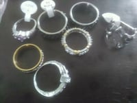 Sil er and dip.  Siver rings  Hamilton, L8T 4R9