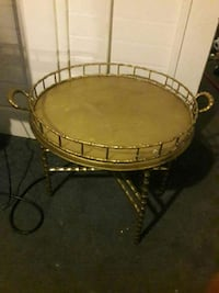 brass framed table 448 mi