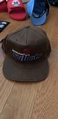 Rare All Leather Bullets hat. Only sold at stadium Derwood, 20855