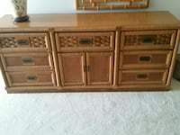 brown wooden sideboard Pompano Beach, 33062
