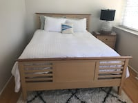 Queen Wooden Bed Bethesda