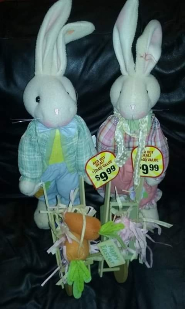 Used Easter Bunny Home Decor For Sale In Bayonne