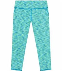 New With Tags GIRLS KIRKLAND SIGNATURE ACTIVE 4 WAY STRETCH CAPRI PANT, 2 Colors, Size Girls XL 16  Green, 44685