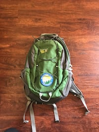 Backpack with patch  San Mateo, 94402
