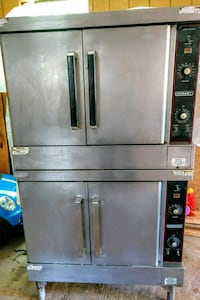 Hobart stacked electric convection oven..$700.00
