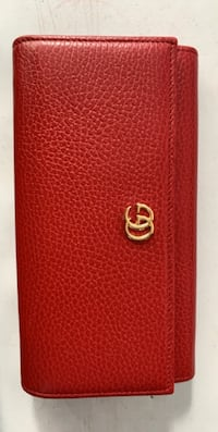 Gucci Red Small Marmont Wallet Toronto