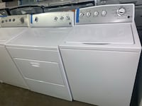 Kenmore top load washer and eectric dryer set working perfectly