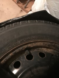Snow tires 185/65R15-looking to sell quickly Guelph, N1G 4J8