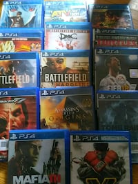 assorted PS4 game case lot 2670 km