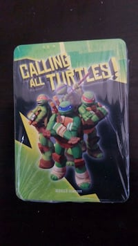 TMNT Calling All Turtles Battle  Game *cards*