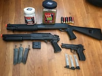 Airsoft guns and accessories