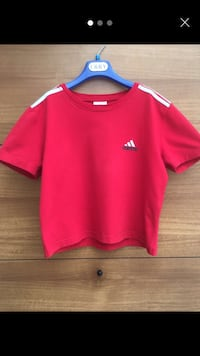 T-shirt rossa Adidas Lecce, 73100