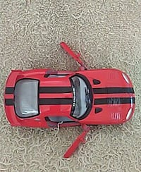 black and red car toy scale model Covington, 30016