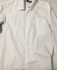 White man shirt