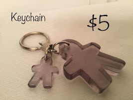 Adult and child Keychain