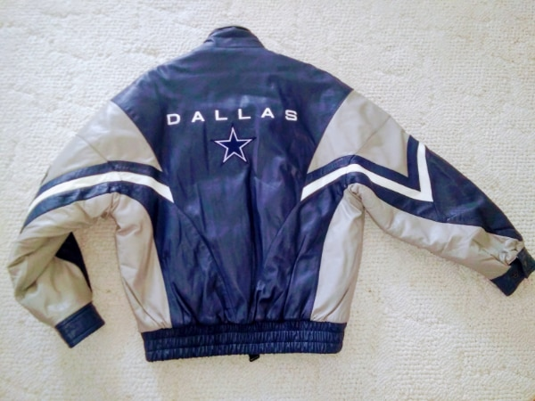 designer fashion d8432 013f5 2 JACKETS- Dallas Cowboys Leather Coat and other Apparel