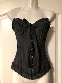 Real Bone Lace up Adjustable Fitted Corset!