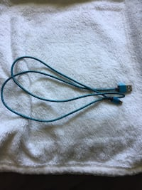 iPhone charger blue, have to many of these Langley, V3A 8S7