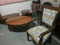 Coffee table and chair Mississauga, L5L 5J9