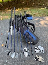 US Kids Golf Clubs and Bag - Blue clubs Germantown, 20874