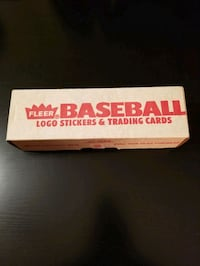 1989 Fleer Baseball Set Toronto, M6C 2L3