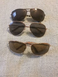 four black and brown framed sunglasses Hagerstown, 21740