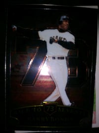 Barry bonds home run record breaking card
