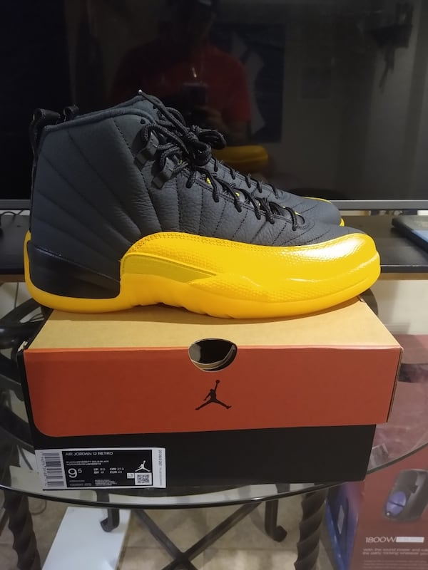 Used Air Jordan 12 University Gold Size 9 5 For Sale In New York Letgo