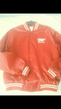 Red jacket size xl