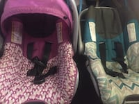 Baby's pink and black car seat carrier Jacksonville, 32206
