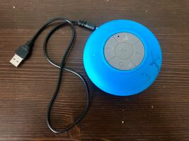 GUC Waterproof Bluetooth speaker with suction cup (blue)