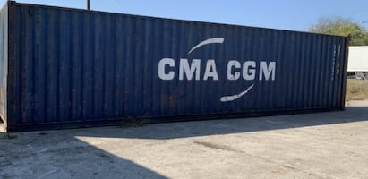 Cargo Containers - Popular Sizes 20', 40' and 40' HC
