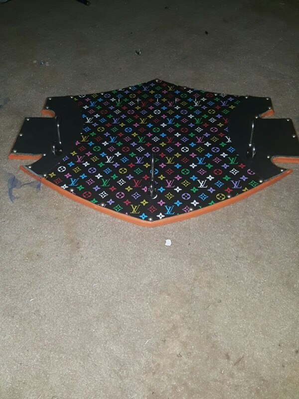 Used Louis Vuitton Print Harley Davidson Symbol For Sale In Lubbock