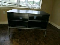 Gery wooden 3-layer TV stand Houston, 77088