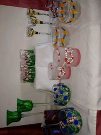 Bundle & save #4Hand painted glass