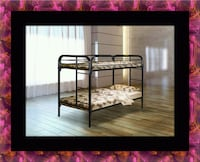 Twin bunkbed with mattress 67 km