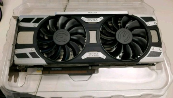 EVGA GTX 1070 Superclocked Graphics Card