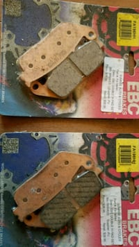 Brake pads for victory cross country